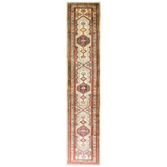 Antique Serab Camel Color Oriental Runner