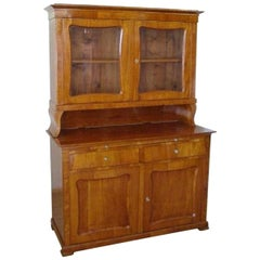 Biedermeier Walnut Dresser  Nut from 1900