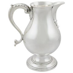 1760s Antique Sterling Silver Beer/Water Jug