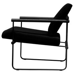 Peter Ghyczy Contamporary Chair Safari Gp05 Charcoal, Oak, Black, Retro Style