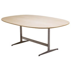 Shaker Base Dining Table by Arne Jacobsen for Fritz Hansen
