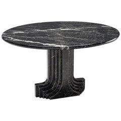 Carlo Scarpa 'Argo' Black Marble Table