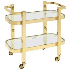 Christensen Trolley in Gold or Chrome Finish