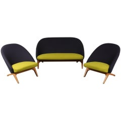 Iconic Seating Set by Theo Ruth for Artifort, Netherlands, circa 1950