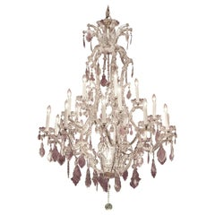 Important  Crystal Chandelier, Late 19th Century, neo-baroque
