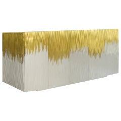 Moon Gold Contemporary Sideboard by Luísa Peixoto