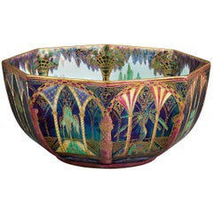 Wedgwood Moorish Fairyland Lustre Octagonal Bowl