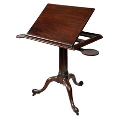 English George II Mahogany Reading/Architects Table, circa 1740