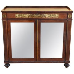19th Century Regency Rosewood Side Cabinet