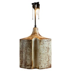 Søholm Stenhøj, Pair of Stoneware Table Lamps, Denmark, circa 1960