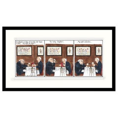 My Wife's an Angel Humorous Print by Annie Tempest
