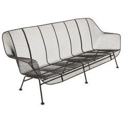 Sculptura Outdoor Sofa by Russell Woodard, Professionally Restored