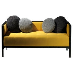 Camelia Contemporary Sofa with 5 Cushions by Luísa Peixoto