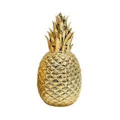 Regency Style Golden Pineapple Decorative Porcelain