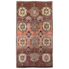 Vintage Turkish Anatolian Carpet
