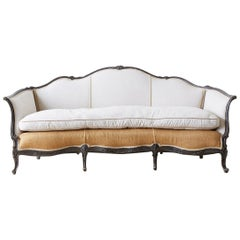 Restored 19th Century French Louis XV Style Canape Sofa
