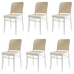 Handcrafted For Generations Rattan Dining Chairs or White Lacquer