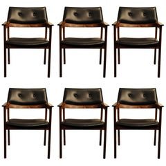 Danish Midcentury Chairs, Fully Refurbished and Reupholstered