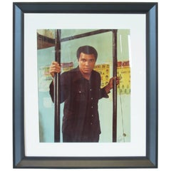 Large Muhammad Ali Photograph by Ernie Cox