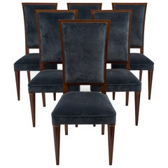 Art Deco Period French Mahogany Chairs