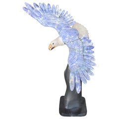 Rock Crystal and Lapis Eagle