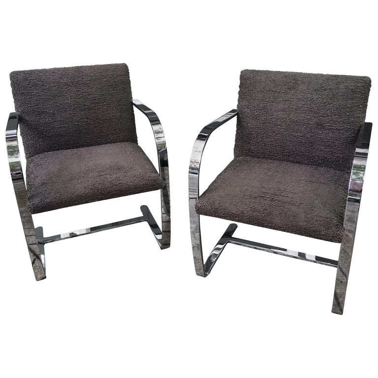 Knoll Brno Chairs by Mies Van der Rohe For Sale