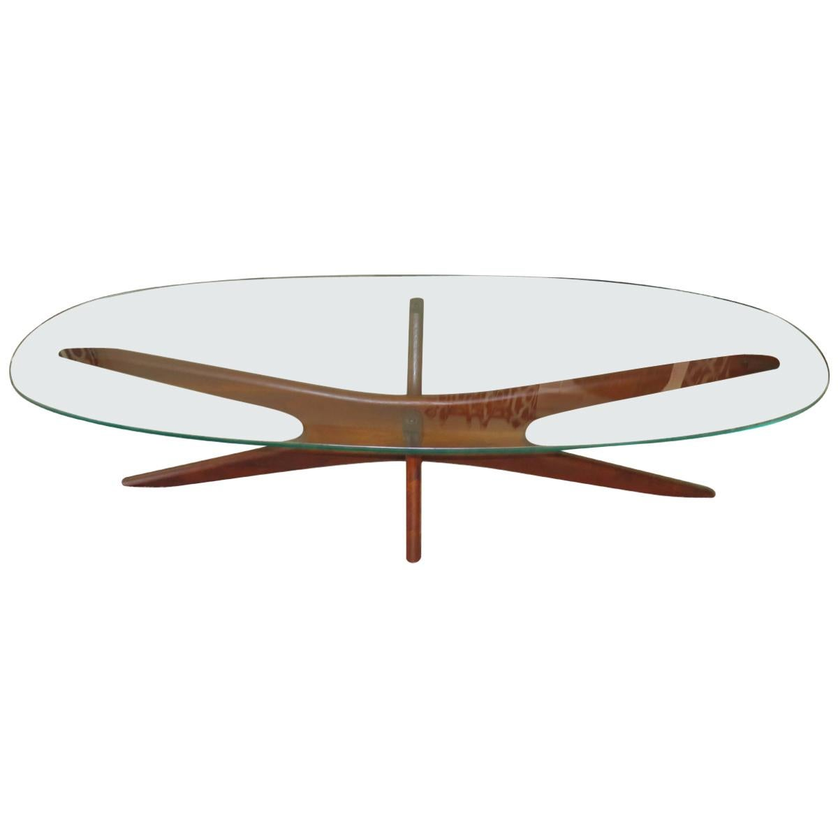 Elongated Jacks Cocktail Table By Adrian Pearsall For Sale At 1stdibs