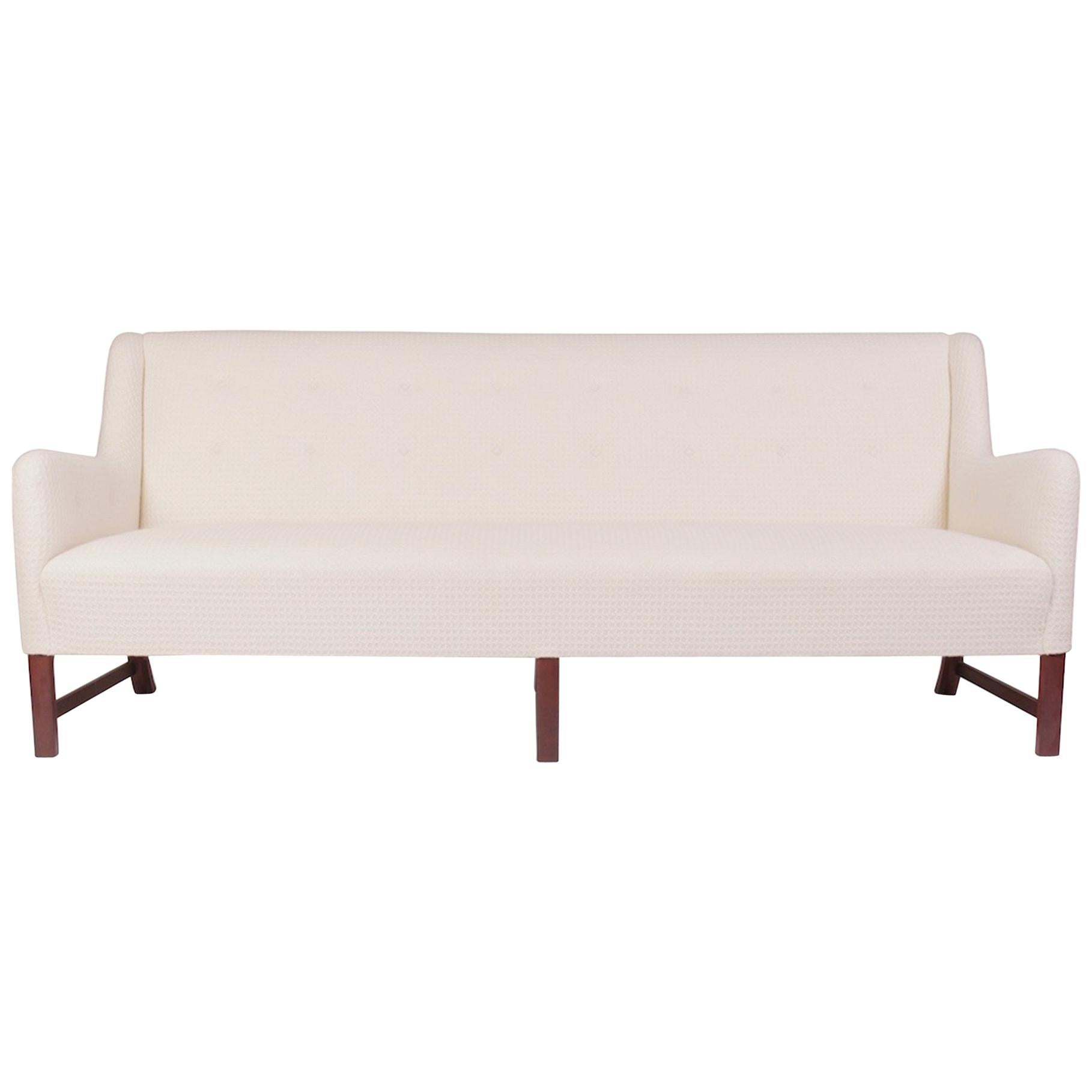 Rare Three-Seat Sofa by Ole Wanscher