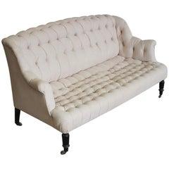 19th Century French Napoleon III Sofa