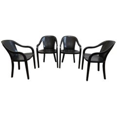 Ward Bennett University Chair Set of Four