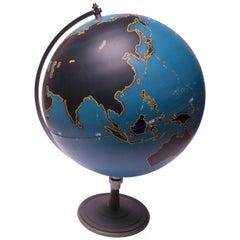 Large-Scale Vintage Denoyer Geppert Military Globe / Activity Globe