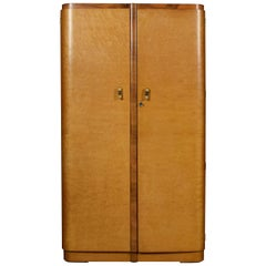 Art Deco Two-Door Wardrobe