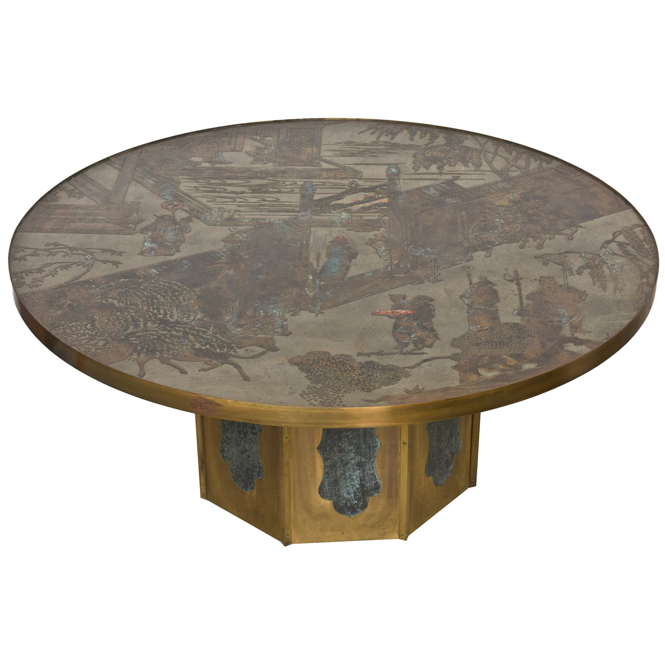 Philip and Kelvin LaVerne Chan Coffee Table, 1960s