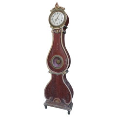 Swedish Tall Case Clock from Fryksdal