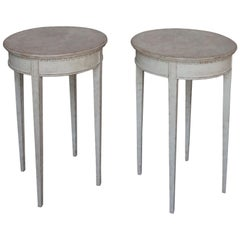 Pair of Swedish Occasional Tables