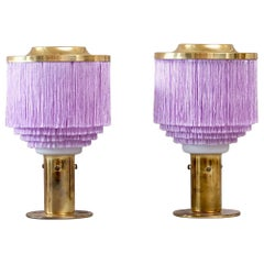 Pair of Hans-Agne Jakobsson Table Lamps Model B-145, 1960s