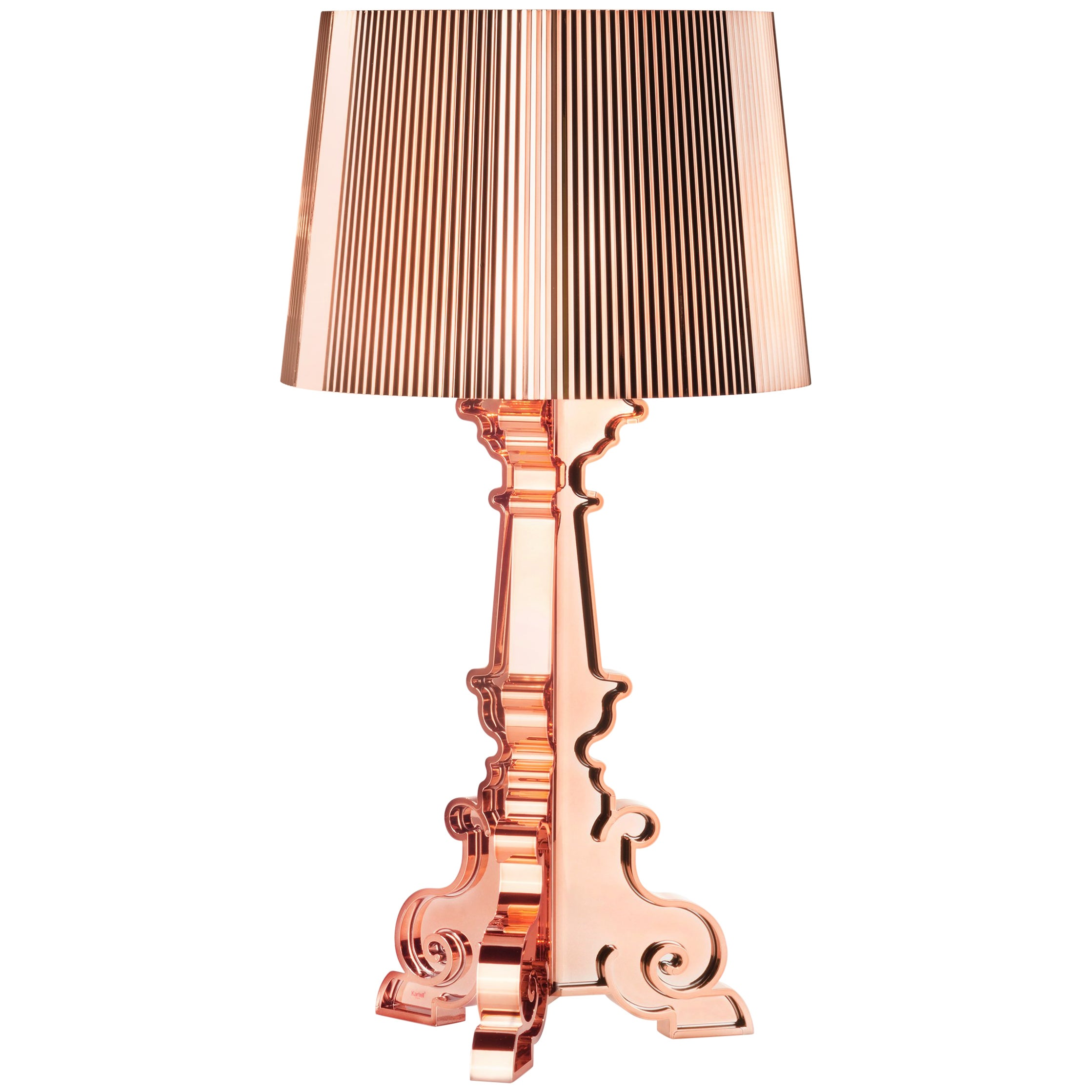 Kartell Bourgie Lamp in Copper by Ferruccio Laviani