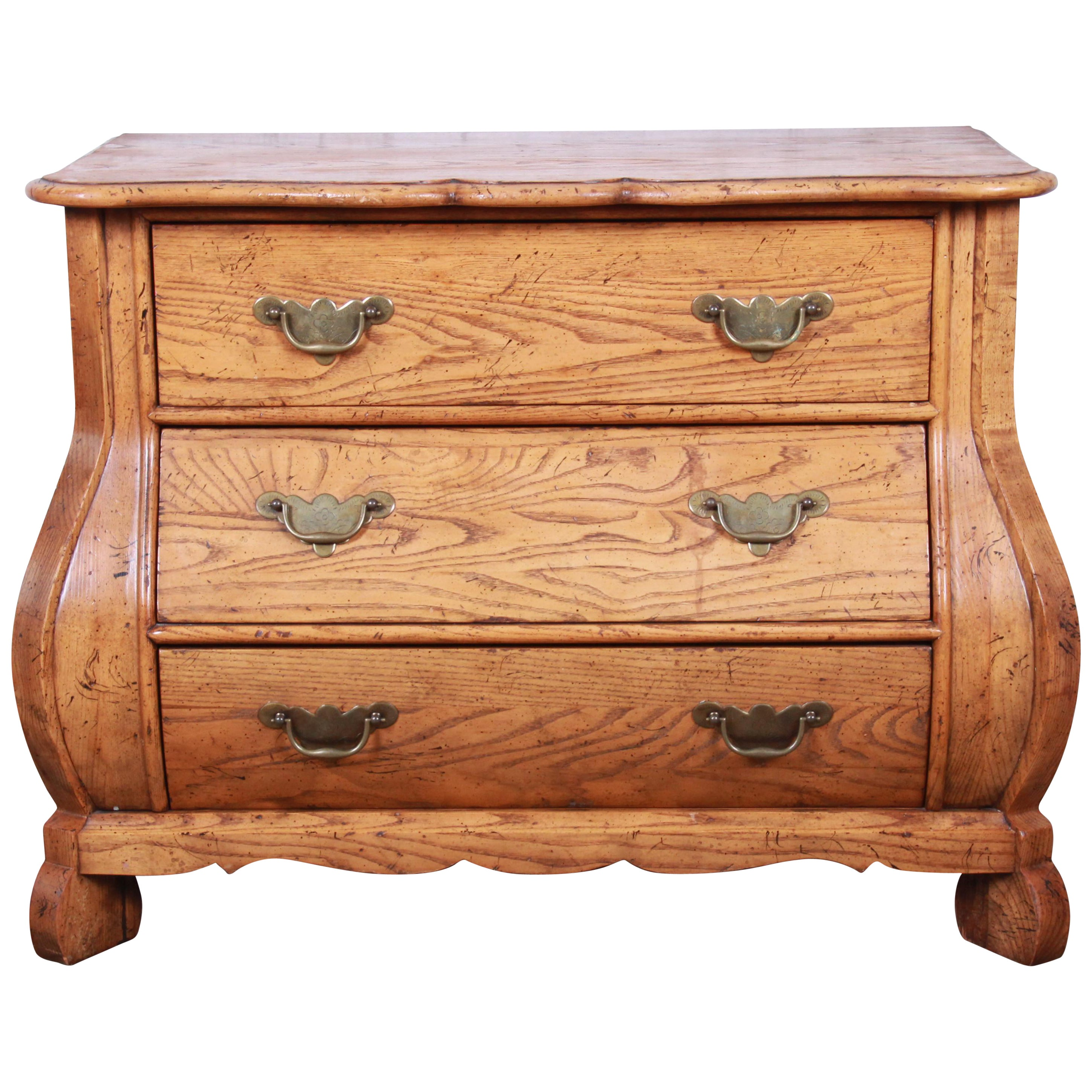 Baker furniture french provincial bombay chest of drawers for sale at 1stdibs