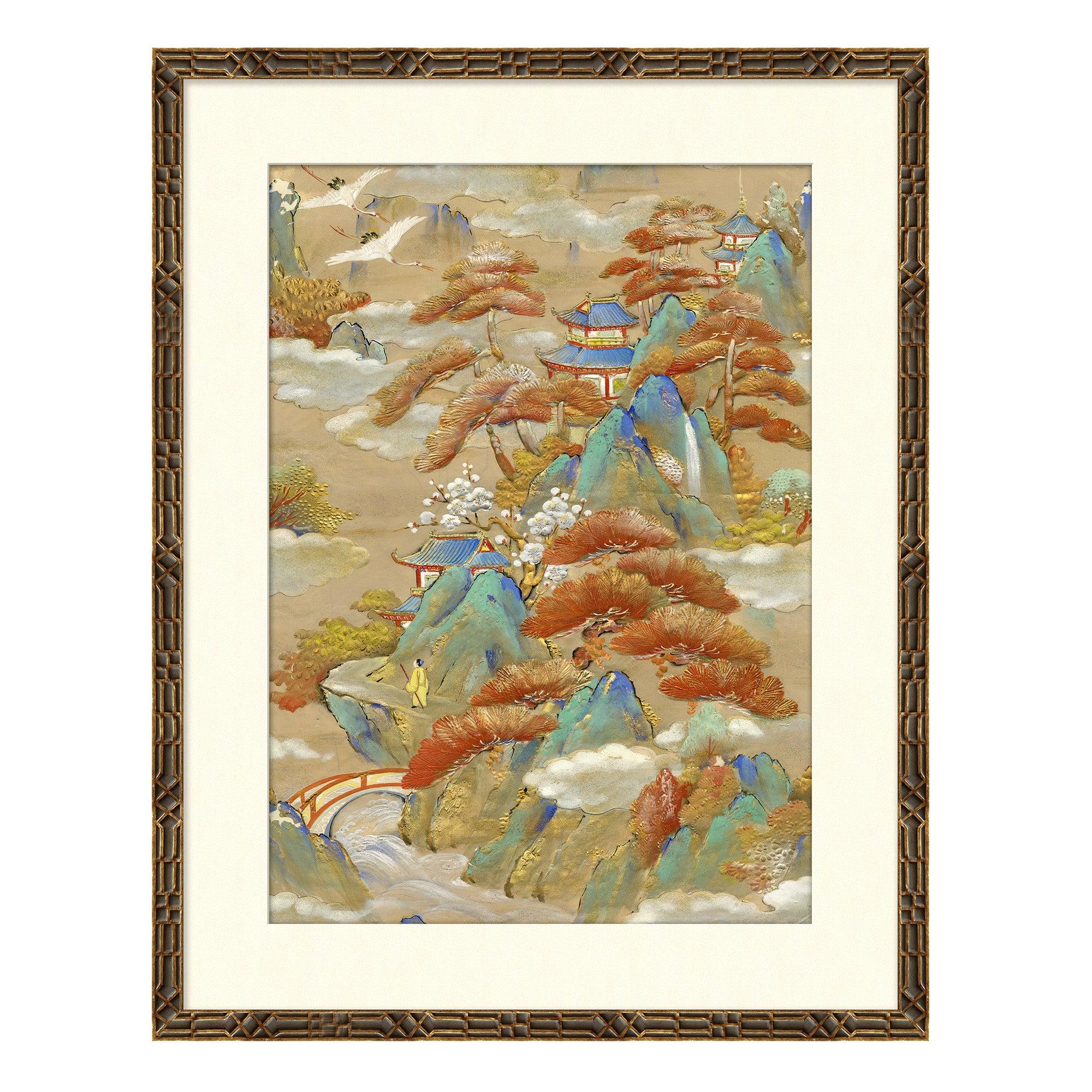 Landscapes I Japanese Print by CuratedKravet