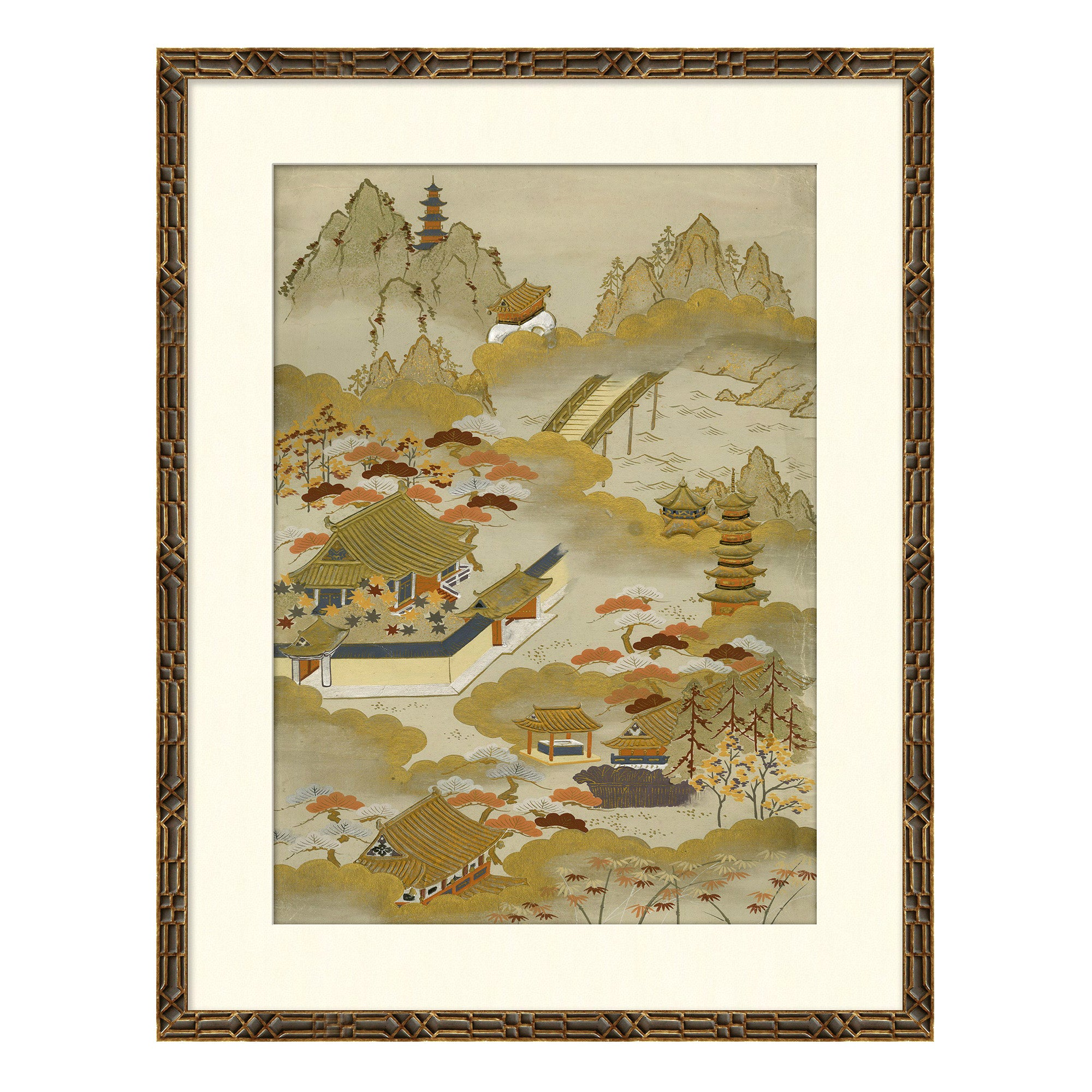 Landscapes II Japanese Print by CuratedKravet