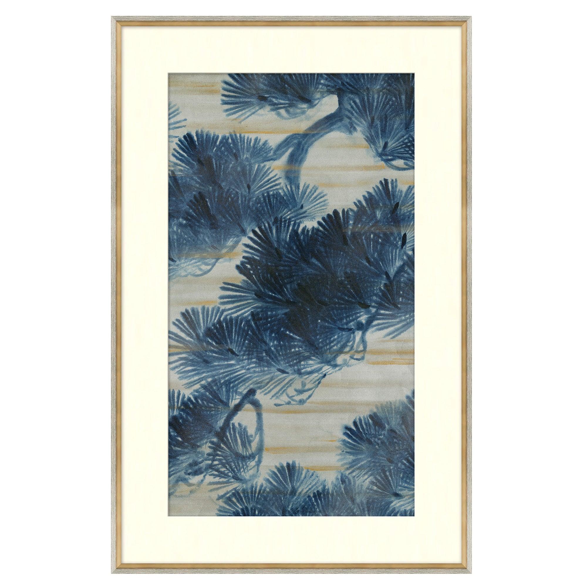 Blue Series II Japanese Print by CuratedKravet