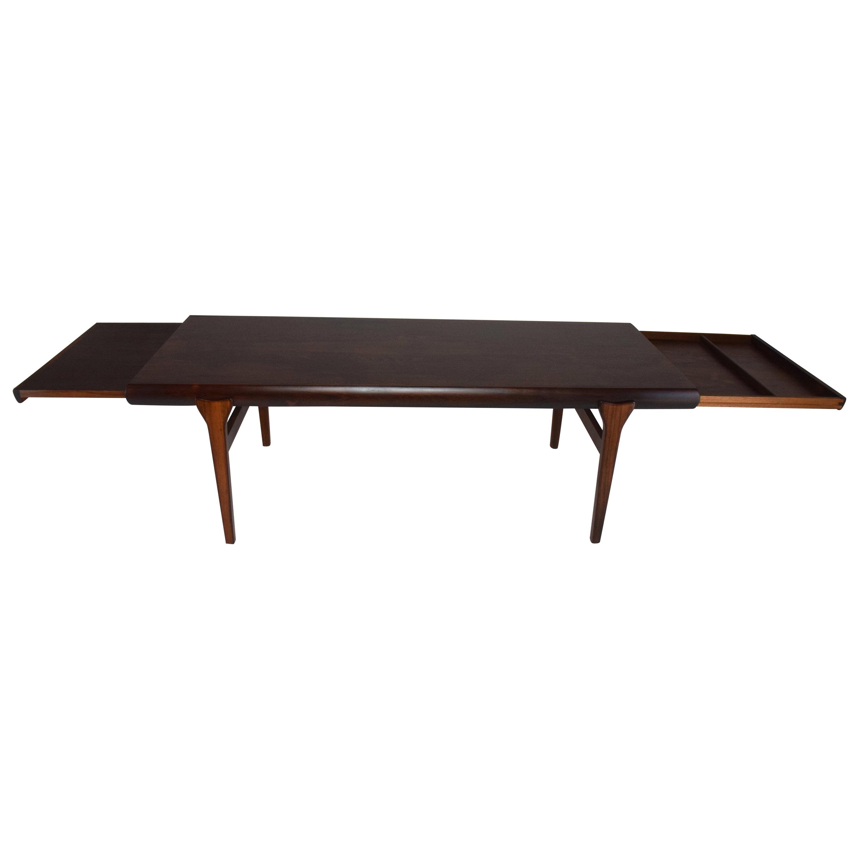 Scandinavian Midcentury Extending Table by Johannes Andersen, 1960s