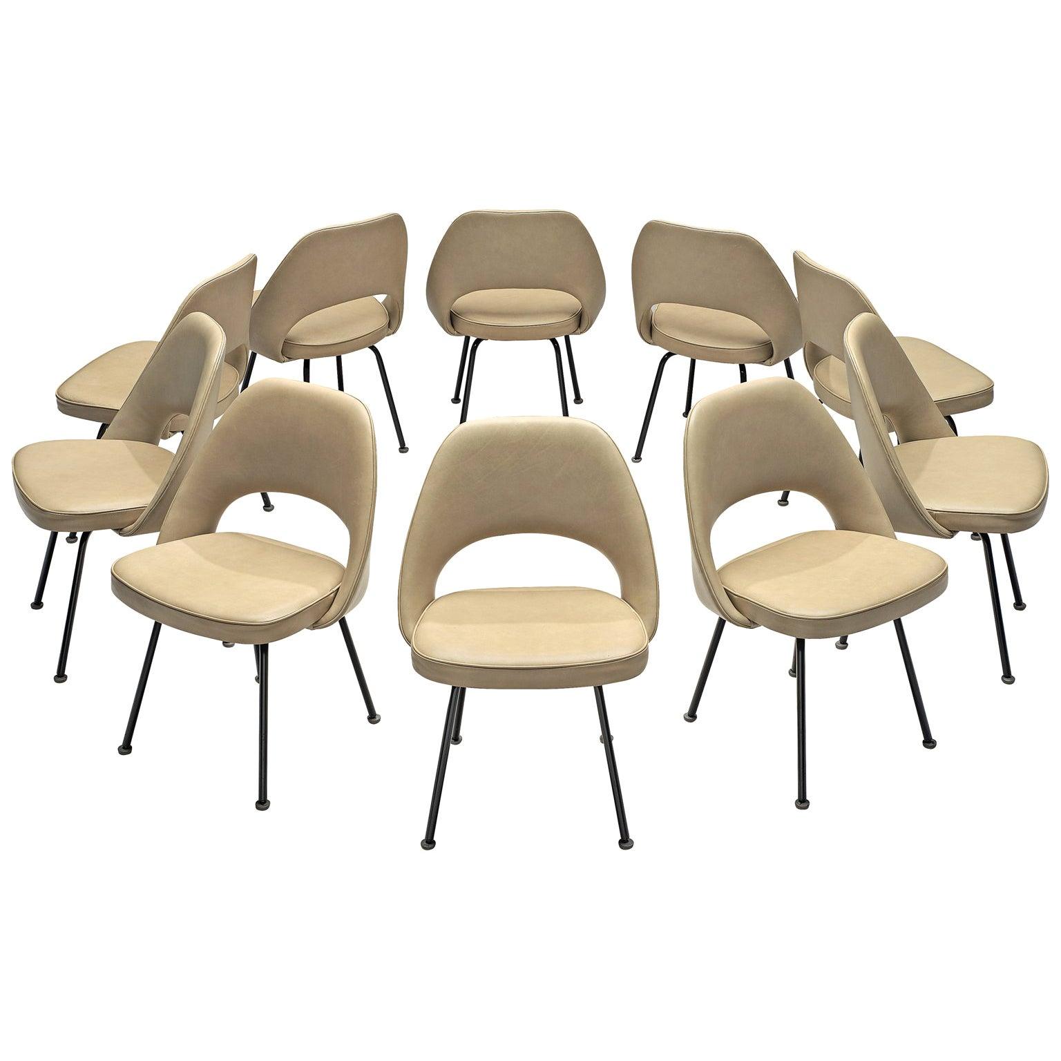 Eero Saarinen for Knoll International Reupholstered Chairs