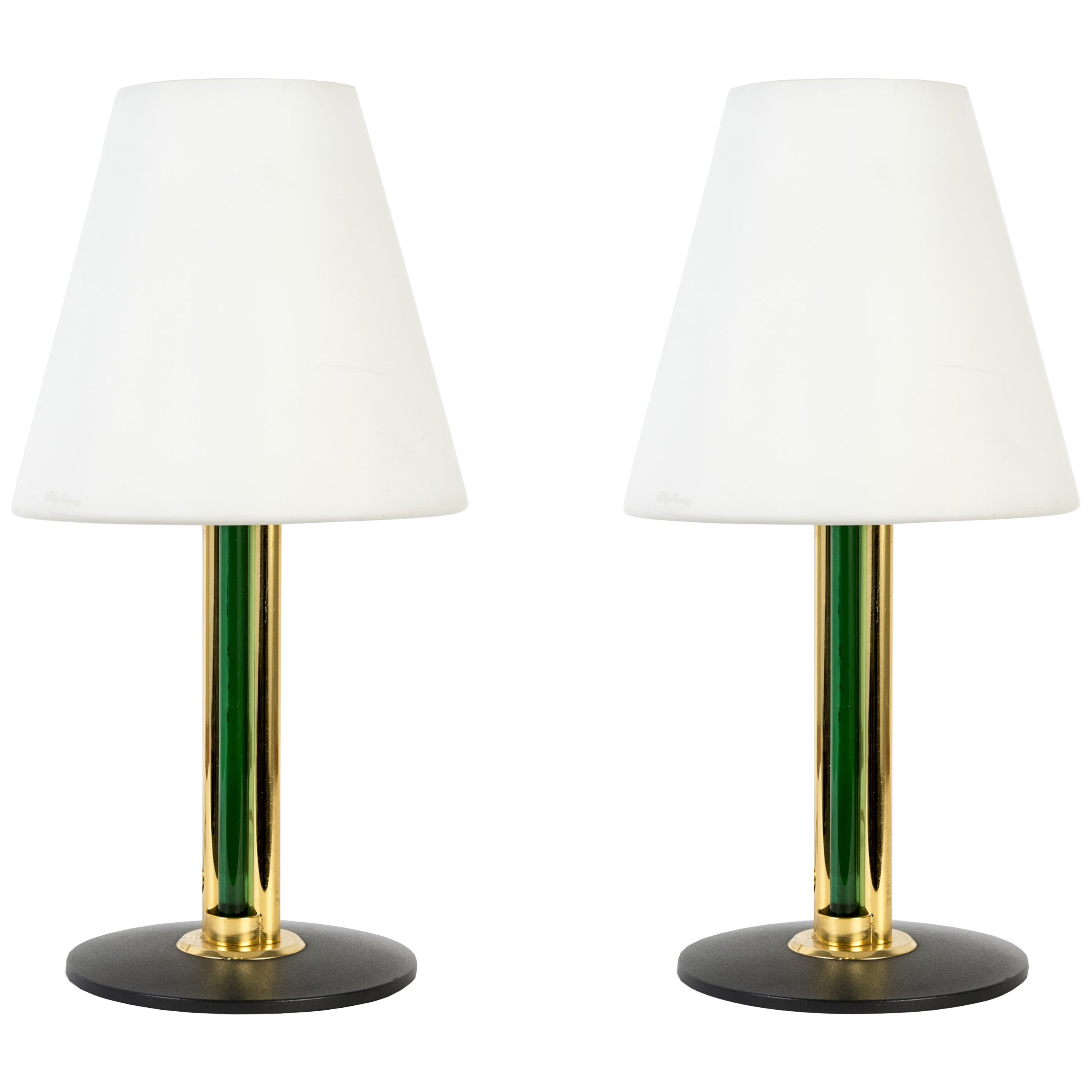 Pair of Italian Lamps in the Manner of Julio Rida