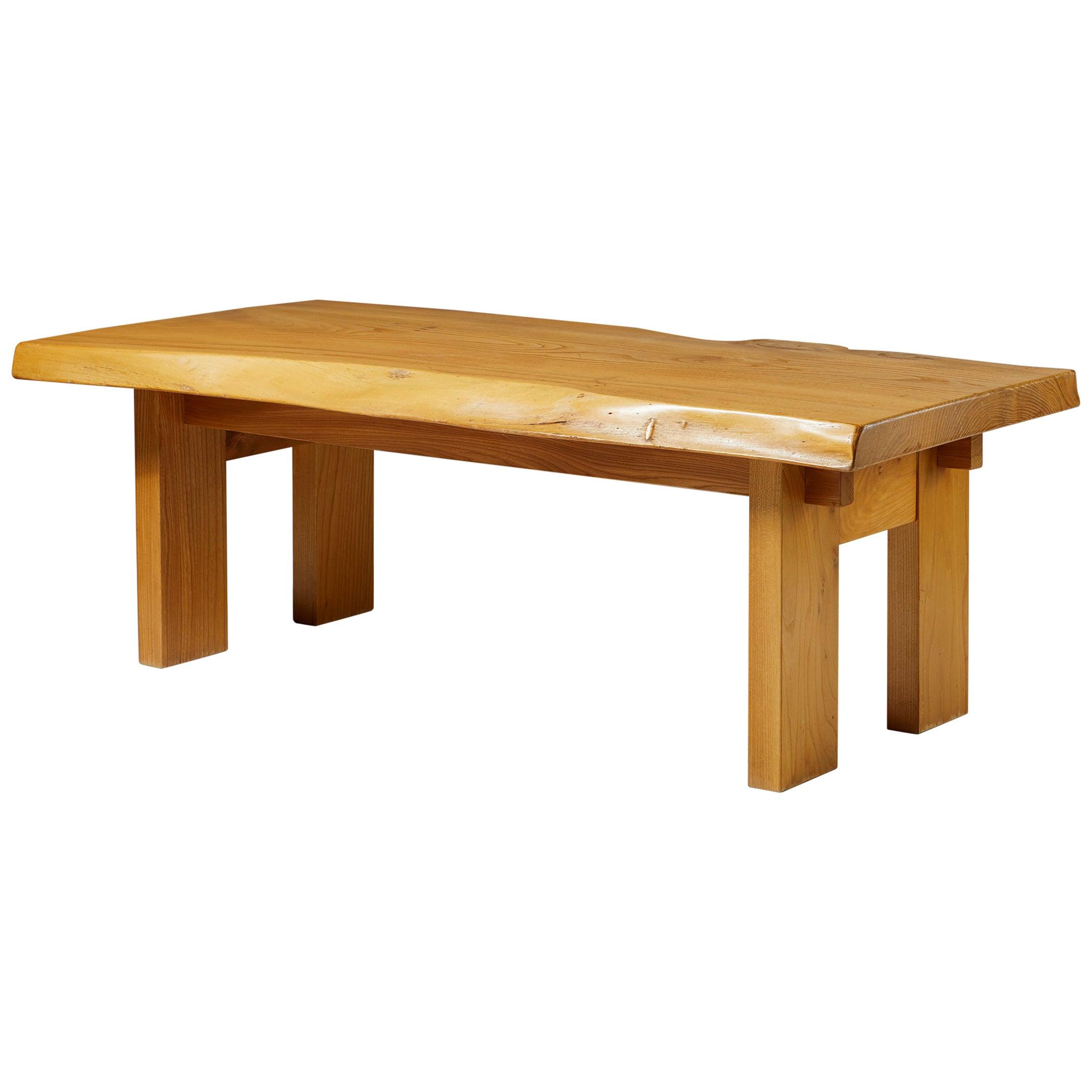 Bench/Table Designed by Sigvard Nilsson for Söwe-konst, Sweden. 1970s