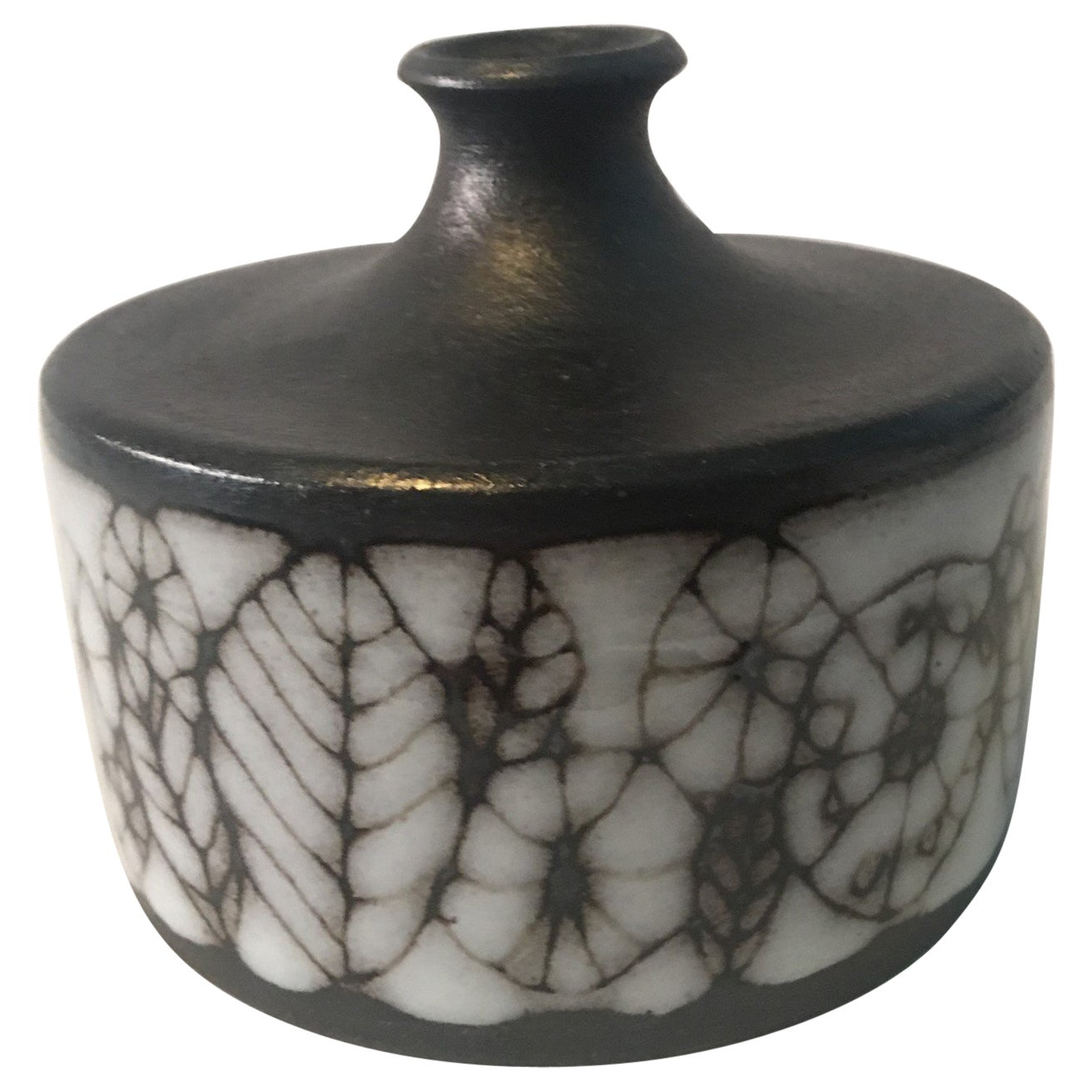 Narrow Neck Ceramic Vase by Wilhelm and Elly Kuch of Germany