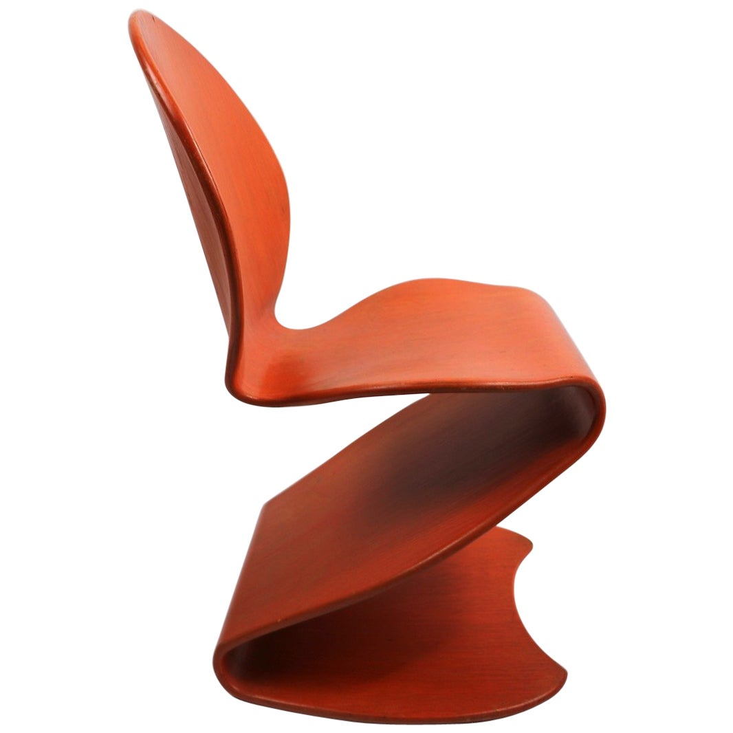 Rare Panton for Thonet 276 S Chair