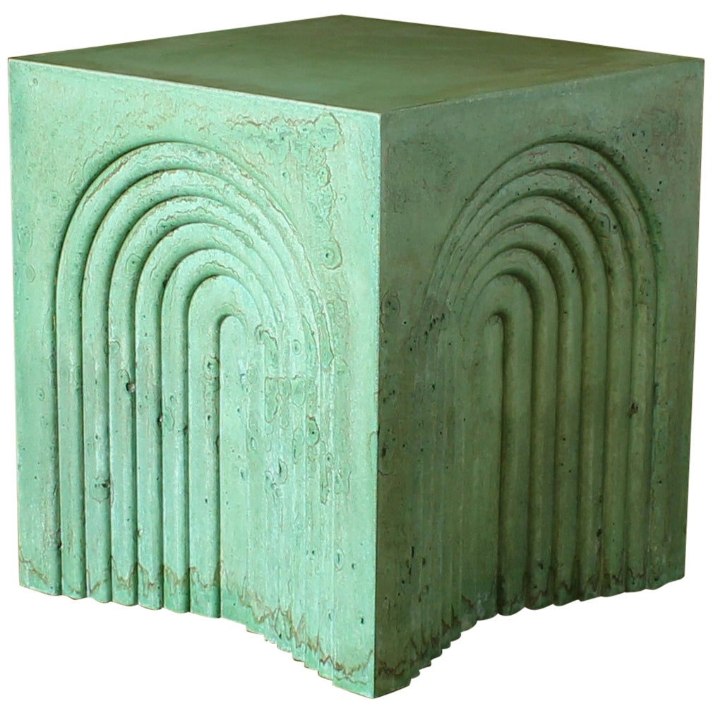 Arcade Concrete Side and End Table