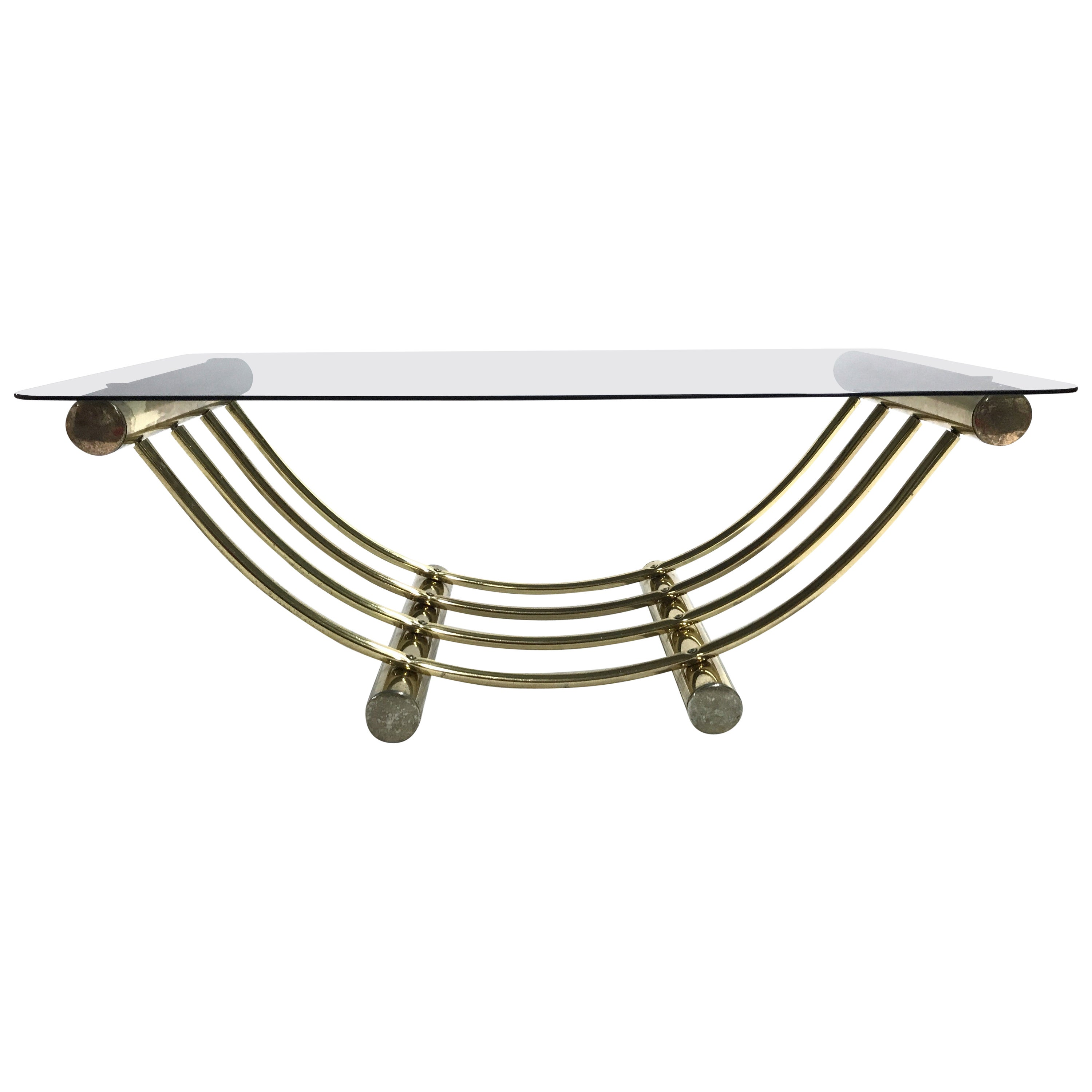 Brass Coffee Table, 1970s