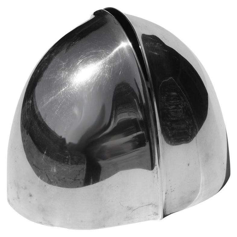 """Germoglio"" Lino Sabattini Italian Design 1970s Silver Vase"